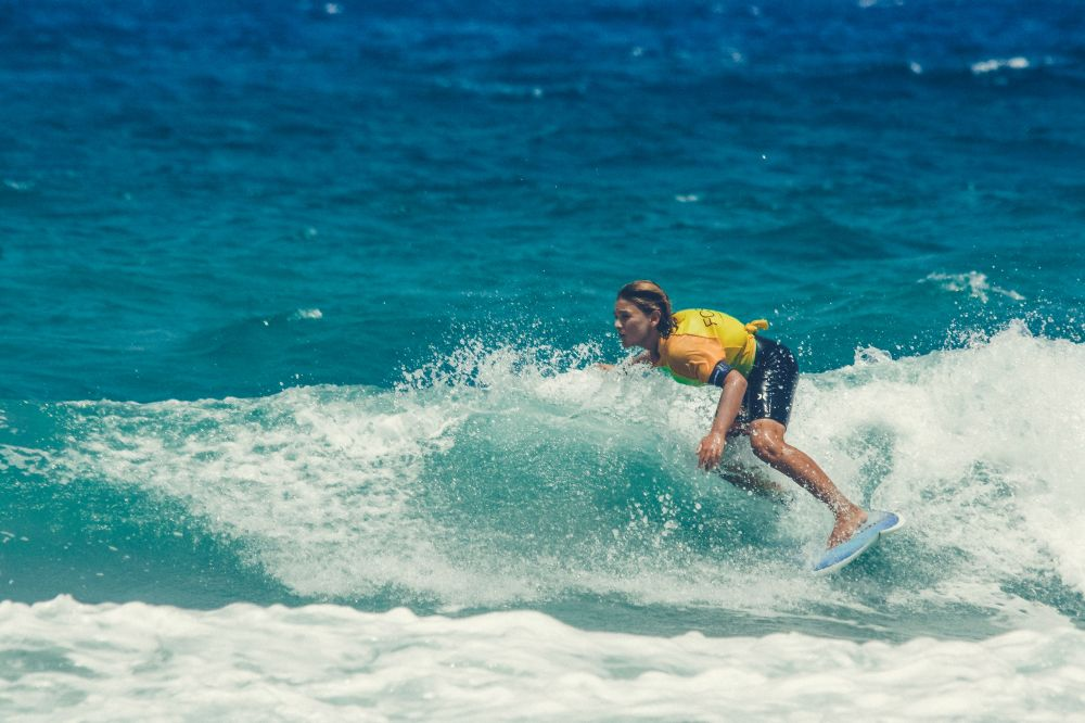 "Surf kids contest day in Puerto Del Rosario - ""La promesa del surf 2018"""