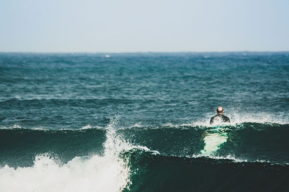 September sessions : surfing instead of working